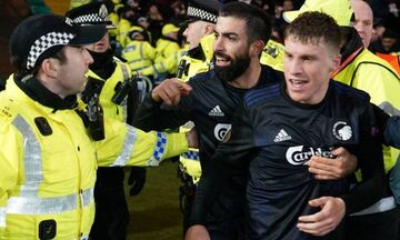 Τιμωρία τριών αγωνιστικών στον Σάντος της Κοπεγχάγης για επίθεση σε αστυνομικό
