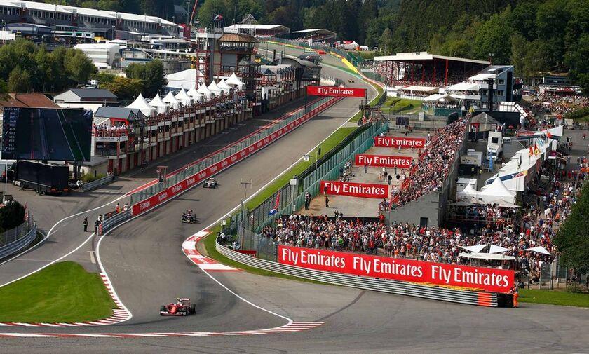 Ανεστάλη και το βελγικό γκραν πρι της F1