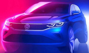 Πρώτη επίσημη ματιά στο VW Tiguan facelift