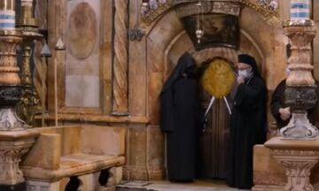 Αγιο Φως: Live η τελετή αφής στα Ιεροσόλυμα