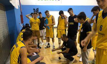 Αγωνία στις ομάδες εφήβων - νεανίδων μπάσκετ