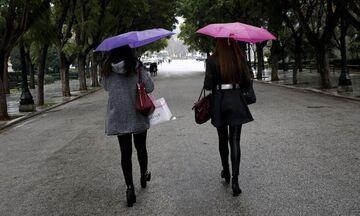 Αλλαγή του καιρού με βροχές, καταιγίδες και μεγάλη πτώση της θερμοκρασίας