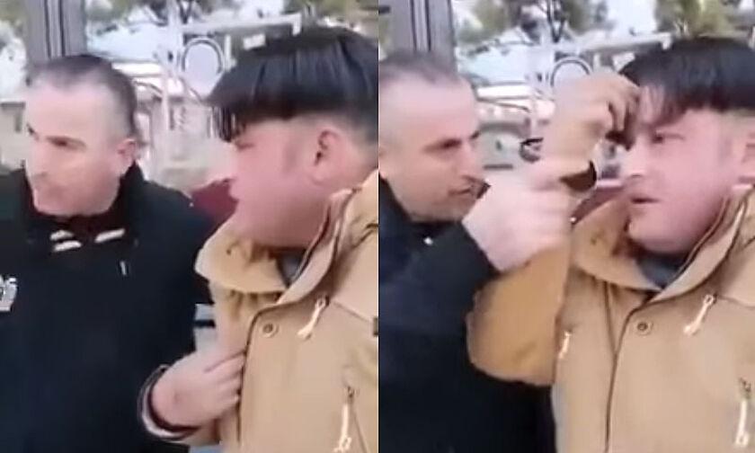 Παρέμβαση Εισαγγελέα για τον οπαδό του ΠΑΟΚ που αναγκάζει μετανάστη να κάνει το σταυρό του (vid)