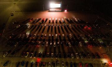 Η Zalgirio Arena έγινε… Drive-in Cinema