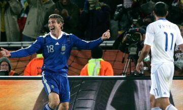 Ο Μάρτιν Παλέρμο θυμήθηκε το γκολ κόντρα στην Εθνική Ελλάδας το 2010 (vid)