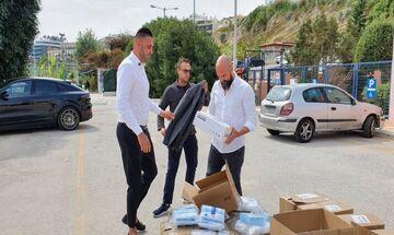 ΟΠΑΝ: Δωρεά γεννημένου στην Τουρκία επιχειρηματία (vid)