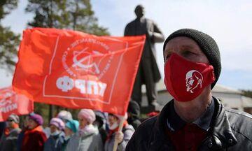 Μόσχα: Έσπασαν την καραντίνα για να τιμήσουν την επέτειο γέννησης του Λένιν