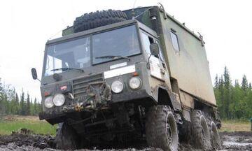 Γνωρίζετε πως η Volvo φτιάχνει στρατιωτικά οχήματα;
