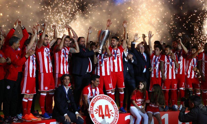 Σαν σήμερα ο Ολυμπιακός κατέκτησε το 44ο πρωτάθλημα στην ιστορία του (vid)