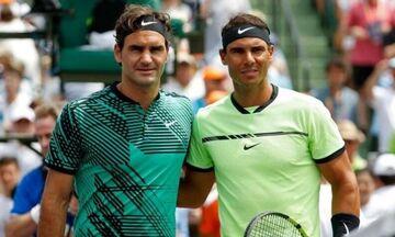 Ναδάλ: Στο πλευρό του Φέντερερ για τη συγχώνευση της ATP με τη WTA