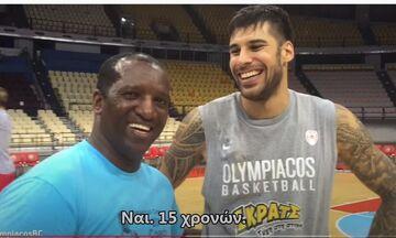 Ολυμπιακός: Όταν ο Ρίβερς συνάντησε για πρώτη φορά τον 15χρονο Πρίντεζη (pic)