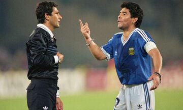 «Από τους χειρότερους ανθρώπους ο Μαραντόνα» λέει ο διαιτητής του Μουντιάλ του 1990! (Vid)
