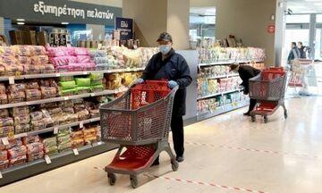 Κορονοϊός: Νέο ωράριο λειτουργίας των σούπερ-μάρκετ