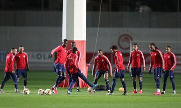 Ολυμπιακός: Επέστρεψαν οι ξένοι παίκτες μετά την άδεια που τους είχε δώσει ο Μαρτίνς