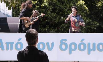 Χαμός με τη «συναυλία» της Πρωτοψάλτη - Τι λέει η ίδια, ο Κραουνάκης και η κυβέρνηση (vid)
