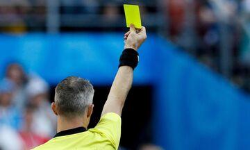 FIFA: Κίτρινη κάρτα στους ποδοσφαιριστές που φτύνουν στο χορτάρι!