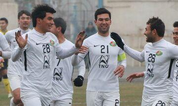 Γκολ στο Τουρκμενιστάν !