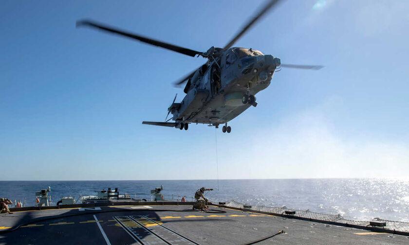 Καναδικό ελικόπτερο κατέπεσε στο Ιόνιο κατά της διάρκεια άσκησης του ΝΑΤΟ