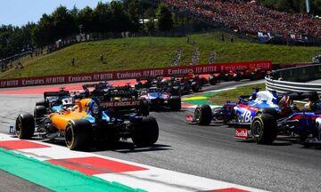 Τα σχέδια της Formula 1 για τη διεξαγωγή του Grand Prix της Αυστρίας