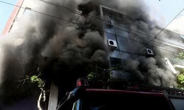 Πυρκαγιά σε αποθήκη στο Μεταξουργείο