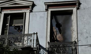 Ποιο είναι το ιστορικό κτίριο που ξέσπασε φωτιά σήμερα το πρωί επί της οδού Σταδίου