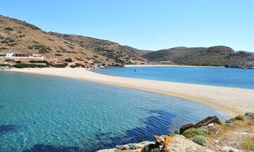 Φως στην Ελλάδα: Η πανέμορφη παραλία της Κύθνου και η πρώτη έκπληξη όταν την αντικρίζεις