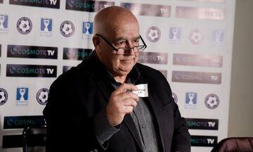 Τι δήλωσε ο πρόεδρος της Επιτροπής Κυπέλλου, Μάνος Γαβριηλίδης για την αναδιάρθρωση