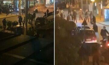 Άρση μέτρων: Επεισόδια στην Αγία Παρασκευή μεταξύ νεαρών και αστυνομίας (vid)