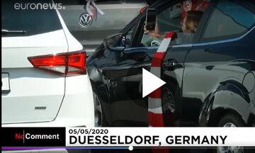 Γερμανία: Γάμος σε «drive in cinema»! (vid)