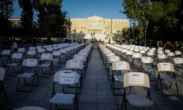 Γέμισαν... άδειες καρέκλες πλατείες της Ελλάδας (pics)