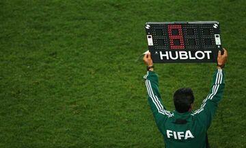 FIFA: Ενέκρινε προσωρινά τις πέντε αλλαγές για κάθε ομάδα