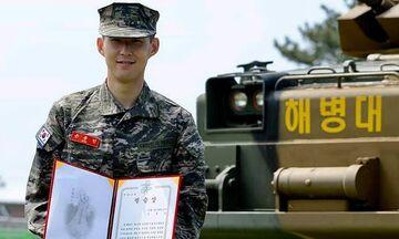Σον: Απολύθηκε από τον στρατό διαπρέποντας στο σημάδι! (pic)