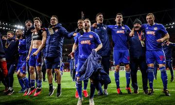 Ολυμπιακός: Στις κορυφαίες ομάδες σε συμμετοχές στο Champions League!