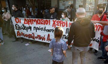 Κυψέλη: Διαδήλωση ενάντια στην αστυνομική καταστολή (pics)