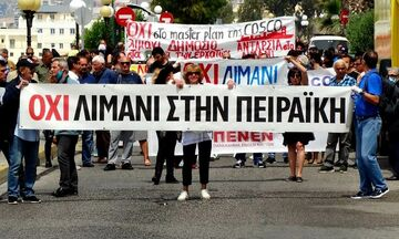 Oι κάτοικοι του Πειραιά αντιδρούν: «Όχι λιμάνι στην Πειραϊκή» (pics, vid)
