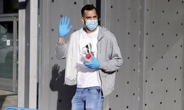 Μπαρτσελόνα: Μάσκες, γάντια και… φύγαμε για προπόνηση (pics)
