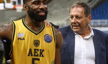 AEK - Αγγελόπουλος: «Κρίμα να βάλουμε παύλα - Να το παλέψουμε και να ολοκληρωθεί το πρωτάθλημα»
