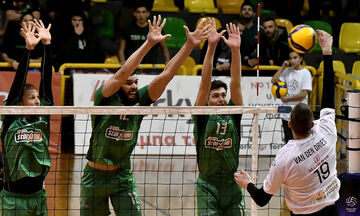Volley League ανδρών: Απομονώθηκαν Παναθηναϊκος-ΠΑΟΚ