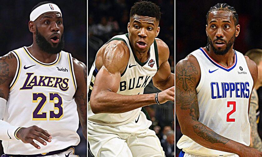 NBA: Ο Γιάννης Αντετοκούνμπο και άλλοι 8 σούπερ σταρ λένε «ναι» στην επανέναρξη