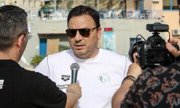 VIDEO: Προπόνηση και δηλώσεις της Εθνικής Ανδρών Πόλο στο Κολυμβητήριο Πειραιά