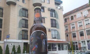 Το όνομα του Ομπράντοβιτς δόθηκε σε μπύρα στη Σερβία