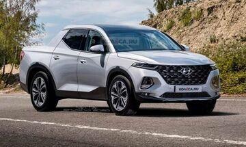 Θα ταράξει τα νερά το pickup Hyundai Santa Cruz