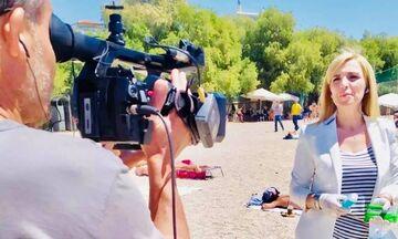 Πετροβόλησαν την δημοσιογράφο Ρένα Κουβελιώτη – Είχε πάει σε ρεπορτάζ για τις παραλίες