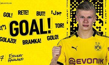 Bundesliga: Ο Χάαλαντ το πρώτο γκολ μετά τον κορονοϊό (vid)