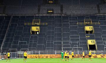Bundesliga: Πανηγυρισμός με… αγκώνες και σέντρα με… αποστάσεις (vids)