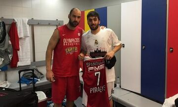 Final Four 2015: Όταν ο Καμπάτσο ζήτησε τη φανέλα του Σπανούλη μετά τον τελικό της EuroLeague (pic)
