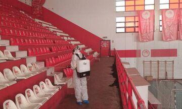 Ολυμπιακός: Απολύμανση στο «Μ. Μερκούρη»
