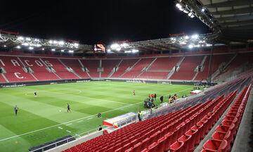 Ετοιμάζεται για την επανέναρξη του πρωταθλήματος το «Γ. Καραϊσκάκης» με χιλιάδες αντισηπτικά (pic)