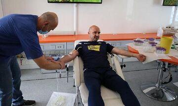 Αστέρας Τρίπολης: Εθελοντική αιμοδοσία στο «Θεόδωρος Κολοκοτρώνης» (pic)