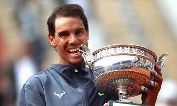 Ναδαλ: Ψηφίστηκε ως ο καλύτερος Ισπανός αθλητής